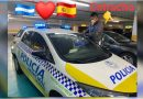 Enorme gesto del hondureño Allan Guzman con la Policía de España