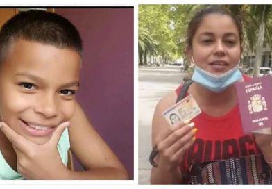 Madre de Enoc ya es ciudadana española y ahora pedirá a la Policía de España le ayuden a encontrar su hijo